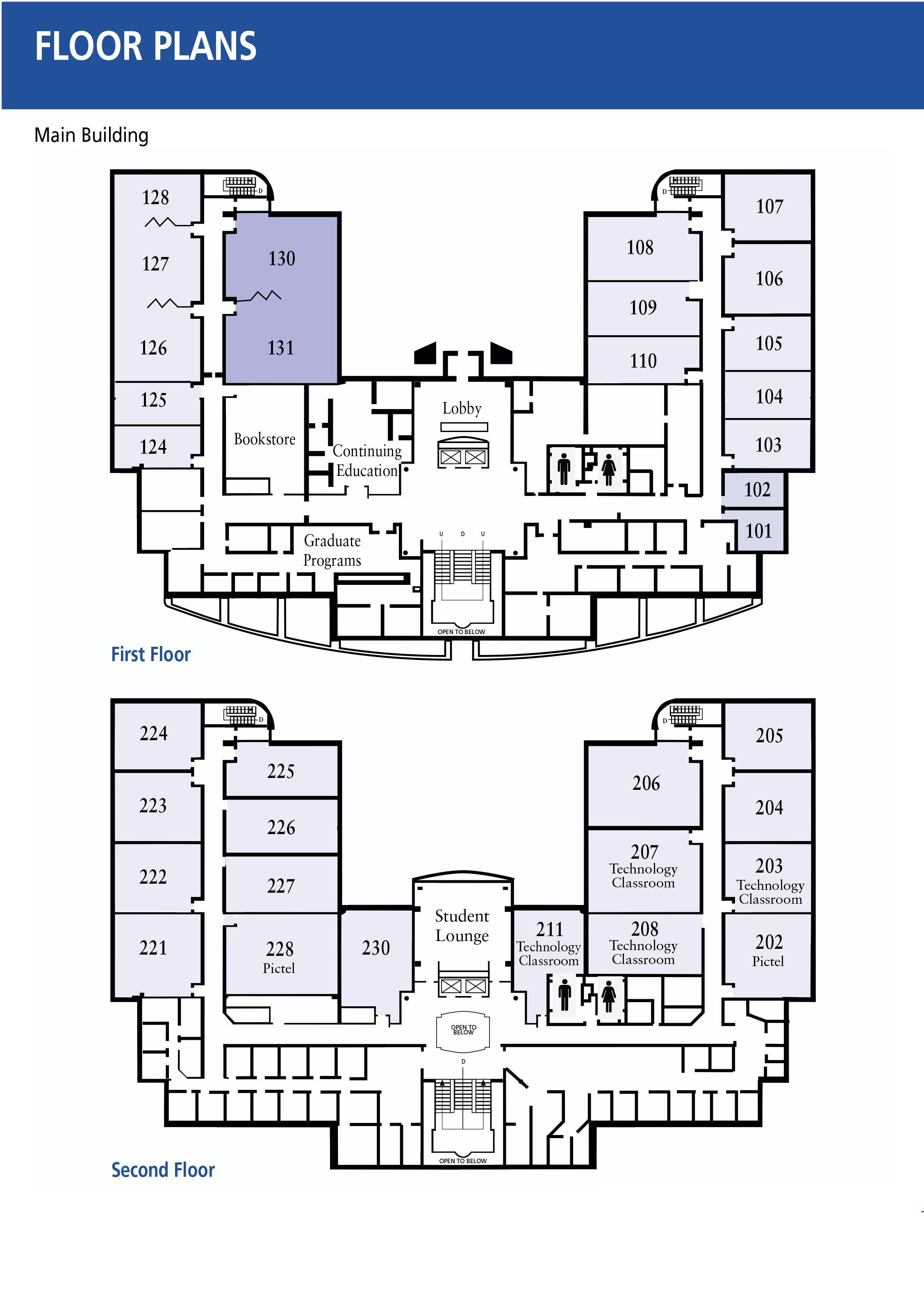 Floor Plans | Penn State Great Valley