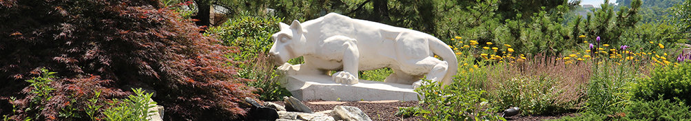 Photo of Nittany Lion statue
