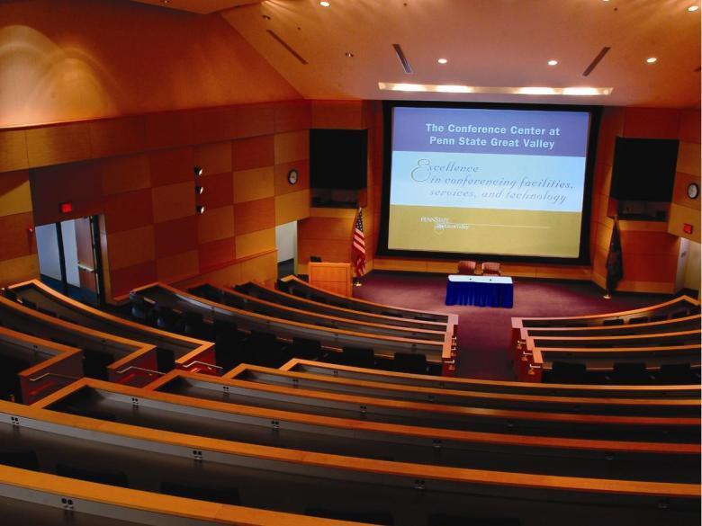 350 seat auditorium