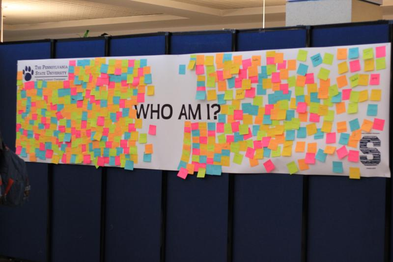 Summer Leadership Conference exercise: Who Am I?