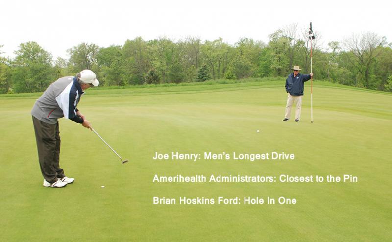 Photo of men playing golf