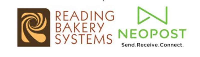 Reading Bakery Systems and Neopost Logos