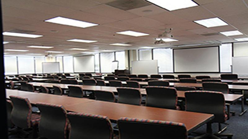 Photo of empty classroom