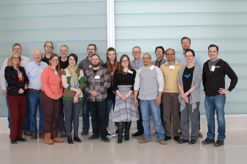 Jablokow and Sonalkar with industry teams at University of Wisconsin-Milwaukee