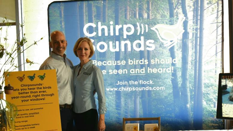 Wayne and Diane Frick at The Biggest Week in American Birding