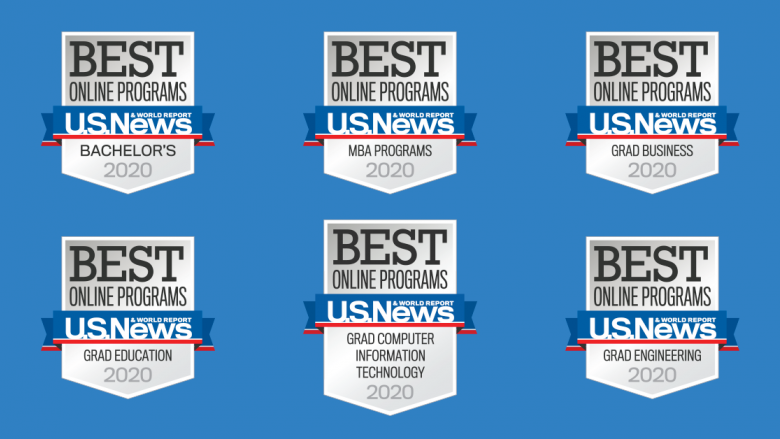 Penn State World Campus receives six top-10 rankings in 2020 U.S. News Best Online Programs