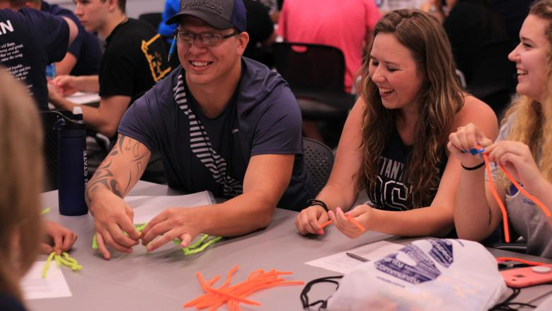 Penn State students from across the commonwealth learn leadership skills while having fun