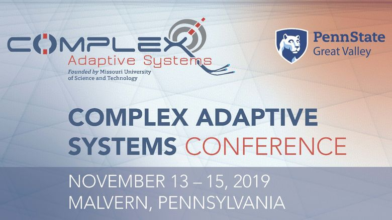 Complex Adaptive Systems Conference graphic