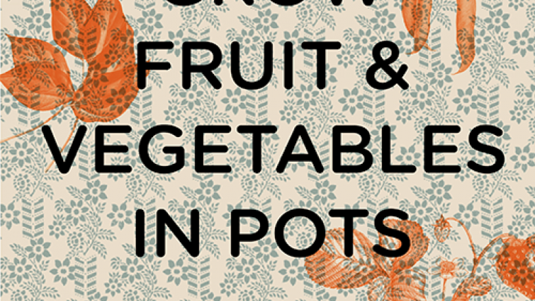 "Cover of ""Grow Fruits & Vegetables in Pots"" by Aaron Bertelsen"