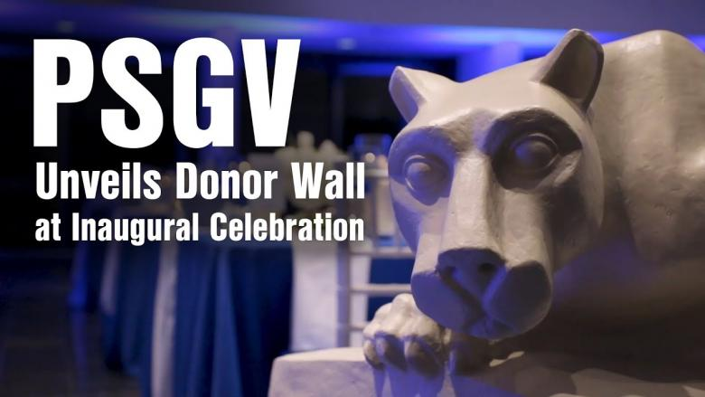 Penn State Great Valley Giving Society Donor Wall
