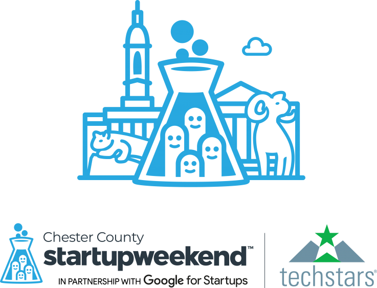 Chester County Techstars Startup Weekend logo